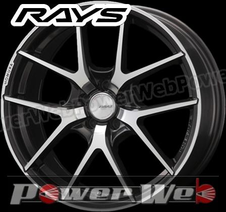 RAYS(レイズ) HOMURA A5S (ホムラ A5S) 18インチ 8.0J PCD:114.3 穴数:5 inset:35 FACE-1 カラー:DMC/スーパーダークガンメタ [ホイール単品4本セット]