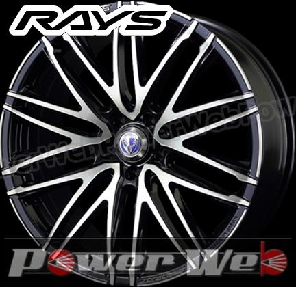 RAYS(レイズ) VERSUS STRATAGIA Valore (ベルサス ストラテジーア ヴァローレ) 20インチ 8.5J PCD:114.3 穴数:5 inset:28 カラー:スパークリングブラックパール [ホイール1本単位]