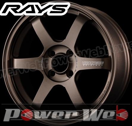 RAYS(レイズ) VOLK RACING TE37 SONIC (ボルクレーシング TE37 ソニック) 16インチ 6.0J PCD:100 穴数:4 inset:42 FACE-1 カラー:ブロンズ [ホイール1本単位]