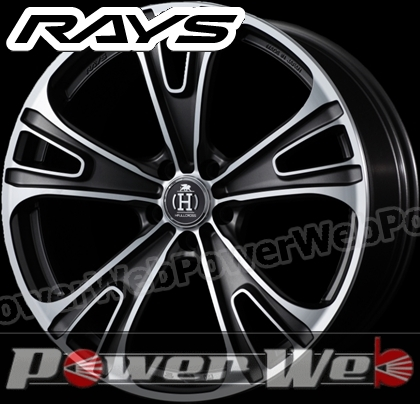 RAYS(レイズ) HFULL CROSS RG5 (フルクロス RG5) 20インチ 8.5J PCD:120 穴数:5 inset:32 ダイヤモンドカット/セミグロスダークガンメタ/DC [ホイール1本単位]