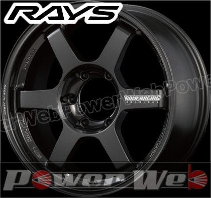 RAYS(レイズ) VOLK RACING TE37 LARGE P.C.D. Progressive Model (ボルクレーシング TE37 ラージ P.C.D プログレッシブモデル) 18インチ 8.0J PCD:139.7 穴数:6 inset:30 ダイヤモンドダークガンメタ [ホイール単品4本セット]