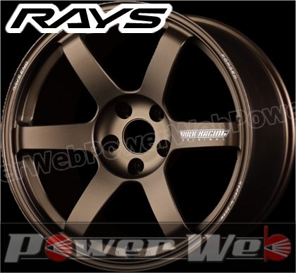 RAYS(レイズ) VOLK RACING TE37 SAGA (ボルクレーシング TE37サーガ) 18インチ 9.5J PCD:114.3 穴数:5 inset:31 FACE-3 ブロンズ [ホイール1本単位]