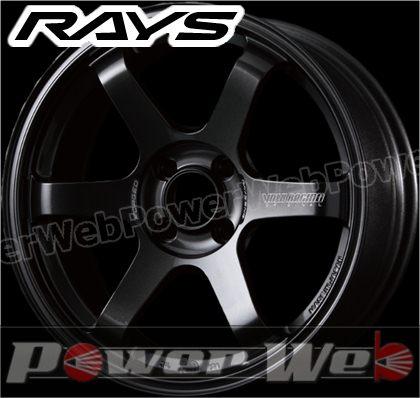RAYS(レイズ) VOLK RACING TE37 SONIC (ボルクレーシング TE37 ソニック) 16インチ 8.0J PCD:100 穴数:4 inset:35 FACE-4 ダイヤモンドダークガンメタ [ホイール単品4本セット]