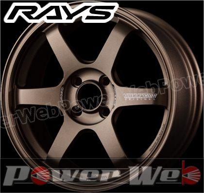 RAYS(レイズ) VOLK RACING TE37 SONIC (ボルクレーシング TE37 ソニック) 16インチ 8.0J PCD:100 穴数:4 inset:35 FACE-4 ブロンズ [ホイール1本単位]