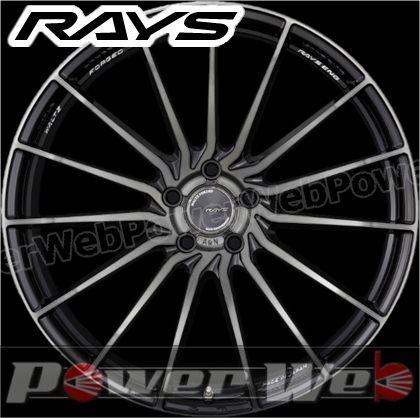 RAYS(レイズ) WALTZ FORGED A&N (ヴァルツ フォージド エーアンドエヌ) 21インチ 10.5J PCD:114.3 穴数:5 inset:40 FACE-1 (運転席側用/助手席側用 各2本) プレスドブラッククリアー [ホイール単品4本セット]