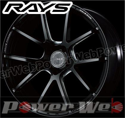 RAYS(レイズ) WALTZ FORGED S5-R (ヴァルツ フォージド S5-R) 19インチ 8.0J PCD:112 穴数:5 inset:48 FACE-1 ブラックマシニング [ホイール単品4本セット]