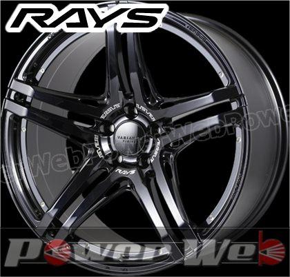 RAYS(レイズ) VERSUS VARIANCE V.V.5.2S (ベルサス ヴァリエンス VV52S) 20インチ 9.5J PCD:112 穴数:5 inset:28 FACE-2 ブラックパールエングレービング [ホイール1本単位]