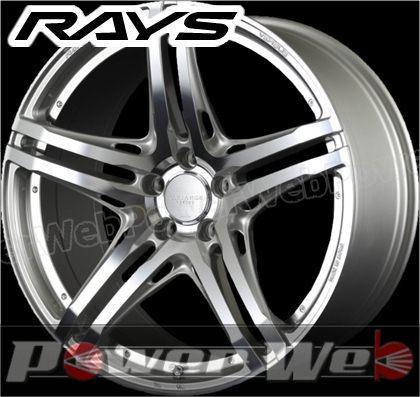 RAYS(レイズ) VERSUS VARIANCE V.V.5.2S (ベルサス ヴァリエンス VV52S) 20インチ 8.5J PCD:120 穴数:5 inset:28 FACE-1 ダイヤモンドミラーカット/サイドヴアリアブルシルバー [ホイール1本単位]