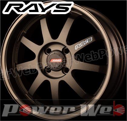 RAYS(レイズ) KC DECOR A・LAP-P (KC デコール エーラップ ピー) 16インチ 6.5J PCD:100 穴数:4 inset:45 FACE-1/L ブロンズ [ホイール単品4本セット]
