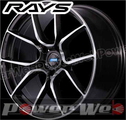 RAYS(レイズ) gram LIGHTS AZURE 57ANA (グラムライツ アズール 57エーエヌエー) 20インチ 8.5J PCD:120 穴数:5 inset:35 FACE-1 スーパーダークガンメタ/ダイヤモンドカット/マシニング [ホイール単品4本セット]