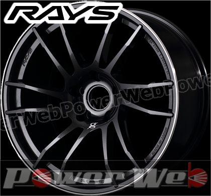 RAYS(レイズ) gram LIGHTS 57XTC (グラムライツ 57エックスティシー) 18インチ 7.5J PCD:100 穴数:5 inset:42 スーパーダークガンメタ/リムダイヤモンドカット/マシニング [ホイール単品4本セット]