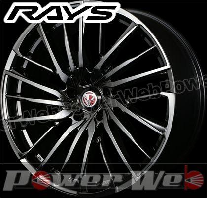 RAYS(レイズ) VERSUS STRATAGIA Avventura (ベルサス ストラテジーア アベントゥーラ) 19インチ 7.5J PCD:114.3 穴数:5 inset:55 ブラッククロームコーティング [ホイール1本単位]