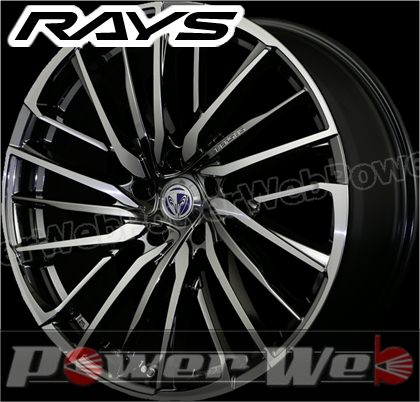 RAYS(レイズ) VERSUS STRATAGIA Avventura (ベルサス ストラテジーア アベントゥーラ) 19インチ 7.5J PCD:100 穴数:5 inset:48 クロモイブリード/マシニング [ホイール1本単位]