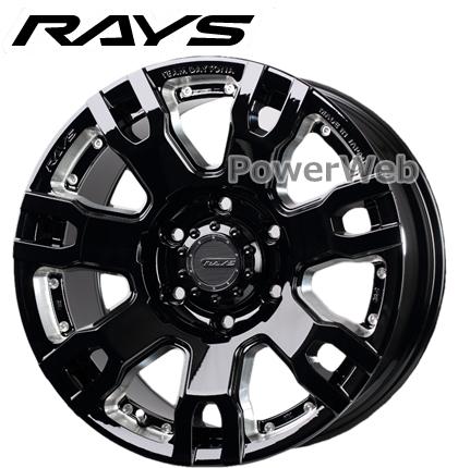 RAYS DAYTONA FDX-F7S (デイトナ FDX F7S) ブラックマシニング 20インチ 8.5J PCD:139.7 穴数:6 inset:22 [ホイール1本]