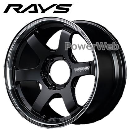 RAYS VOLK RACING TE37SB tourer (ボルクレーシング TE37 SB ツアラー) ブラック/リムDC 17インチ 6.5J PCD:139.7 穴数:6 inset:38 [ホイール1本]