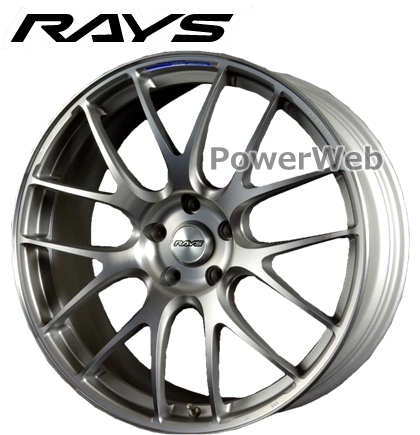 RAYS VOLK RACING G27 PROGRESSIVE MODEL (ボルクレーシング G27 PM) プレスドアッシュグレー 19インチ 8.5J PCD:114.3 穴数:5 inset:45 [ホイール1本]
