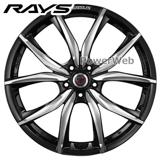 RAYS VERSUS STRATAGIA SALVATORE (ベルサス ストラテジーア サルヴァトーレ) ダイヤモンドカット/サイドブラックマイカ+マシニング 21インチ 9.0J PCD:120 穴数:5 inset:28 [ホイール4本セット]