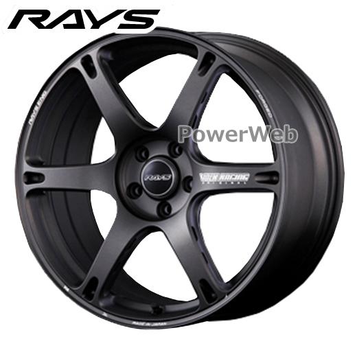 RAYS VOLK RACING TE037 6061 (ティーイーゼロサンナナ ロクマルロクイチ) マットガンブラック 18インチ 8.5J PCD:114.3 穴数:5 inset:35 [ホイール1本]