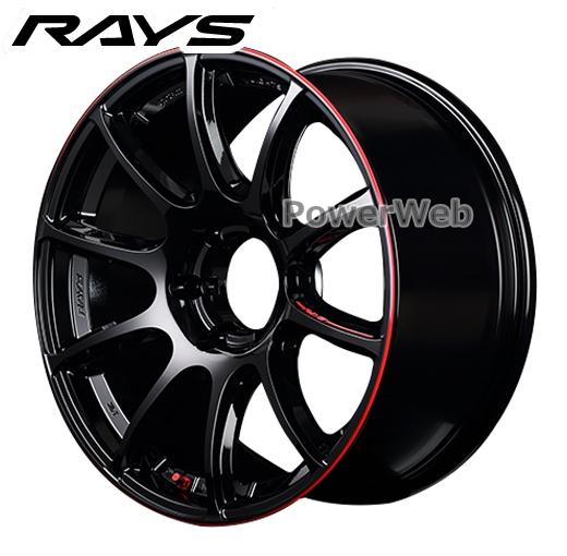 RAYS gramLIGHTS 57TRANS-X REV LIMIT EDITION (57トランスエックス レブリミットエディション) ブラック&マシニング/E-pro Coat 20インチ 8.5J PCD:139.7 穴数:6 inset:21 [ホイール1本]