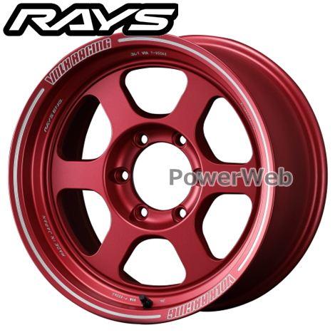 RAYS VOLK RACING TE37XT (ボルクレーシング TE37XT) マットレッド (MA) 17インチ 8.0J PCD:139.7 穴数:6 inset:0 [ホイール4本セット]