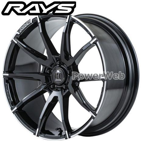 RAYS HFULLCROSS ES105 (フルクロス ES105) ブラック/アウトラインDC (BAJ) 20インチ 9.0J PCD:114.3 穴数:5 inset:46 [ホイール1本]