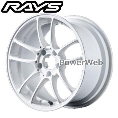 RAYS Two Brothers Racing ITARU 010 (TBR イタル010) ホワイト/センターマシニング (ONC) 17インチ 9.0J PCD:100 穴数:5 inset:44 [ホイール4本セット]