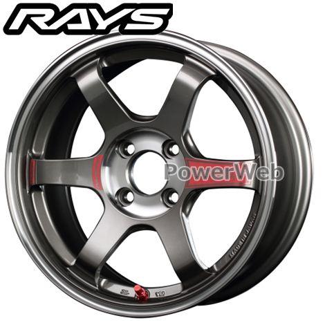 RAYS VOLK RACING TE37 SONIC SL (ボルクレーシング TE37 ソニック SL) プレスドグラファイト (PG) 15インチ 5.0J PCD:100 穴数:4 inset:45 [ホイール1本]
