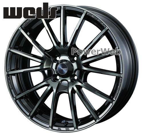WedsSport SA-35R (SA35R) ウォースブラッククリアー (WBC) 16インチ 6.5J PCD:100 穴数:4 inset:38 [ホイール4本セット]