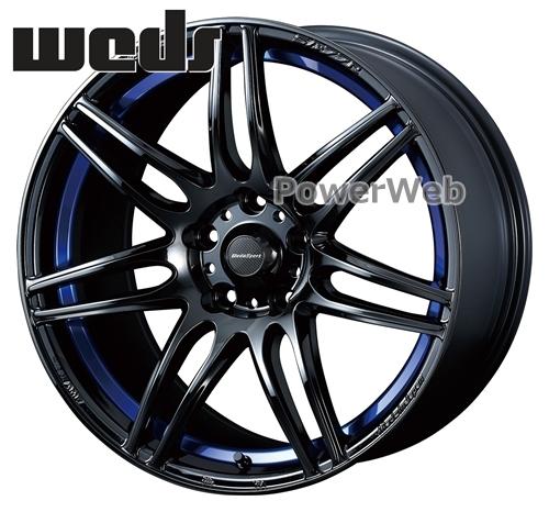 WedsSport SA-77R (SA77R) ブルーライトクローム2 (BLC2) 18インチ 8.5J PCD:114.3 穴数:5 inset:35 [ホイール4本セット]