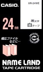 カシオ 新品■送料無料■ ネームランドテープカートリッジ XR-24WE 大決算セール