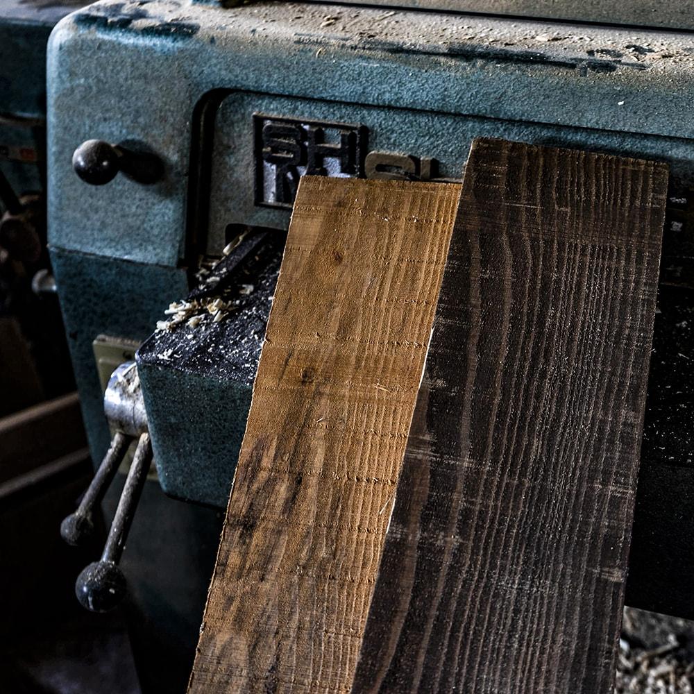 【送料無料】「古風板」国産材で作った古材みたいな木材。 22mm×134mm×約2.2m