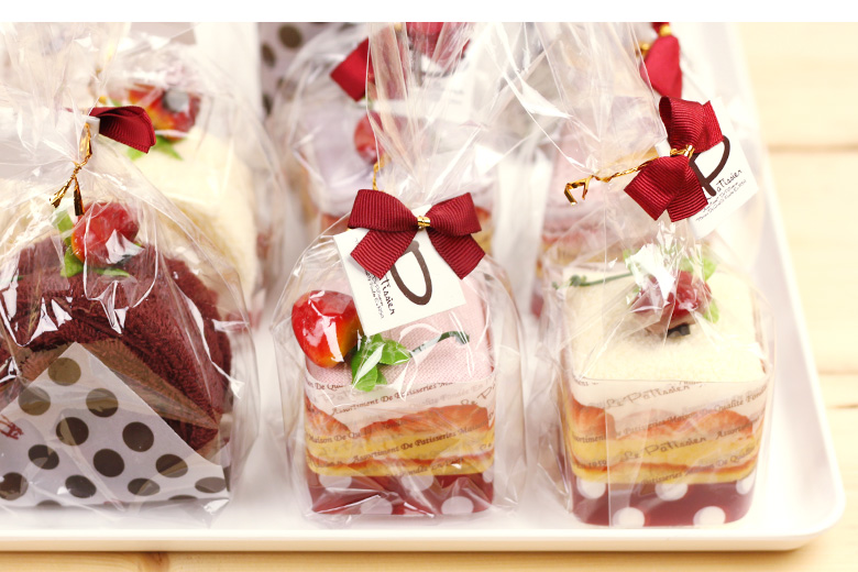 Cake towel gifts 5 cake towel set 5 pieces | gift thank you fashionable wedding cake towel set cake Petit towel cake favors parties 内 祝 I girl children moving wedding retirement gadgets transferred back wash towel