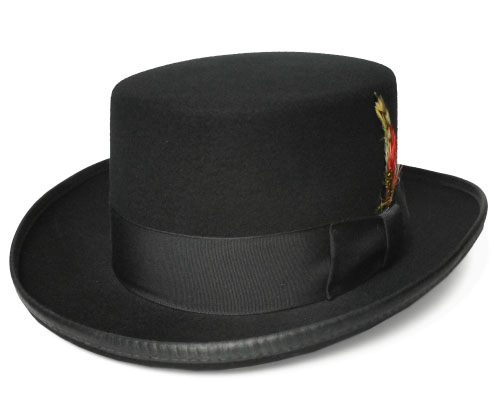 ニューヨークハット 帽子 フェルトハット New York Hat 5404 Coachman コーチマン ブラック  紳士 婦人 メンズ レディース 送料無料 あす楽 フォーマル 高級