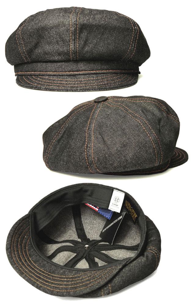 New York Hat New York Hat newsboy  6221 DENIM STITCH SPITFIRE -denimstetchspitfire 58c279659095
