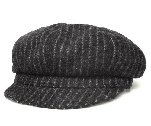 New York Hat Hat newsboy New York Hat 9063 Woolrich Pin Spitfire Woolrich  pin Spitfire charcoal Navy Pinstripe gentleman mens Womens unisex collar  short 22c9e4de9e2e