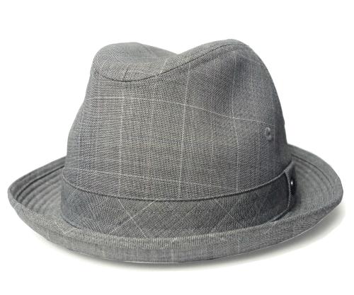 送料無料 Borsalino ボルサリーノ型 中折れハット B0164 グレー 帽子 ハット メンズ レディース 男女兼用 ギフト