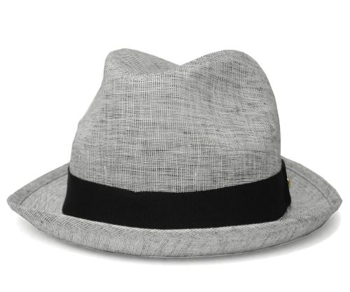 送料無料 Borsalino ボルサリーノ 中折れハット B0169 グレー 帽子 ハット メンズ レディース 男女兼用 ギフト