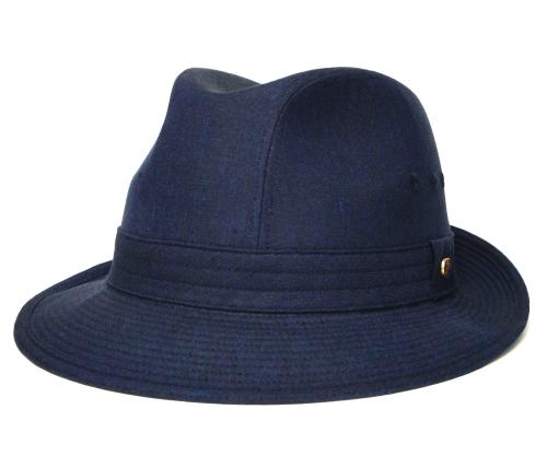 送料無料 Borsalino ボルサリーノ 中折れハット BS110ブラウン ネイビー帽子 ハット メンズ レディース 男女兼用 ギフト