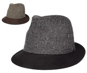 送料無料 Borsalino ボルサリーノ ハット BS195 ブラウン グレー 帽子 中折れハット 紳士 婦人 メンズ レディース 男女兼用 ギフト あす楽