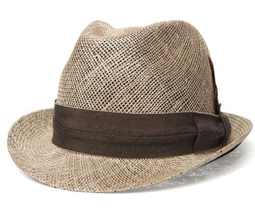 送料無料 Bailey ベイリー Hollywood Series 63231 DELANO デラノ Natural Black 帽子 ストローハット 中折れハット 麦わら帽子 メンズ レディース 男女兼用