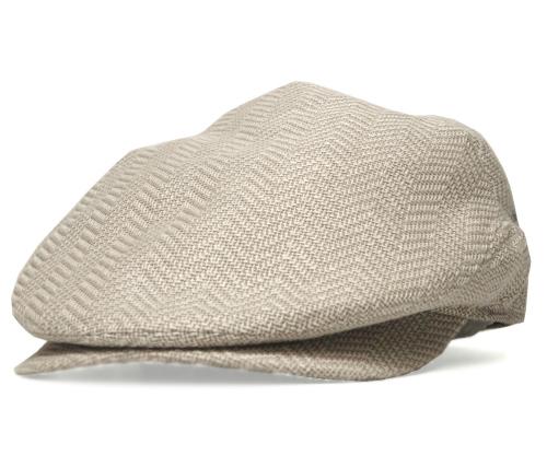 送料無料 CHRISTYS LONDON クリスティーズ ロンドン 35023 ミニヘリンボン ハンチング ベージュ 帽子 メンズ レディース 男女兼用 ギフト