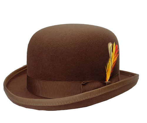prast-inc  New York Hat New York Hat  5007 Classic Derby classic Derby  Cocoa cocoa brown hat Hat felt Bowler Hat another Derby Hat note large size  men women ... a9b0a0a7d6f