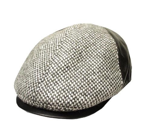 送料無料 Borsalino ボルサリーノ ハンチング BS376 グレー 帽子 ハンチング 紳士 婦人 メンズ レディース 男女兼用 ギフト 正規品