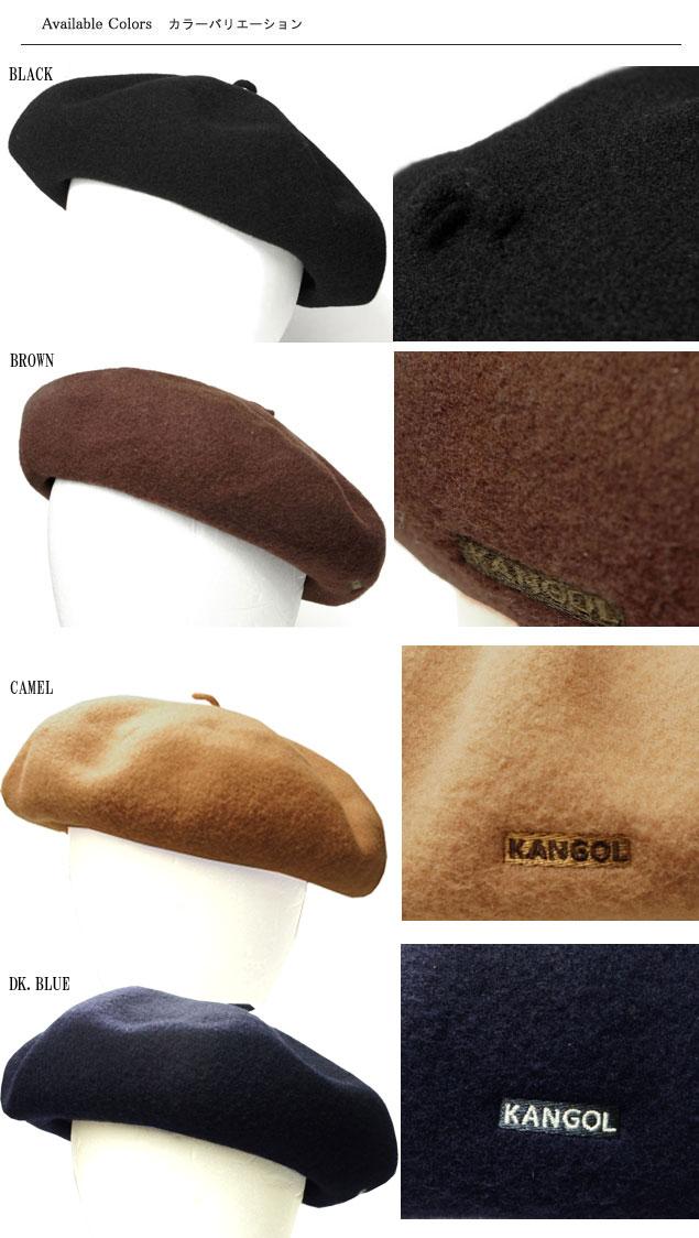 d2fd91b7 prast-inc: KANGOL KANGOL ANGLOBASQUE BERET Angola Basque beret Black ...