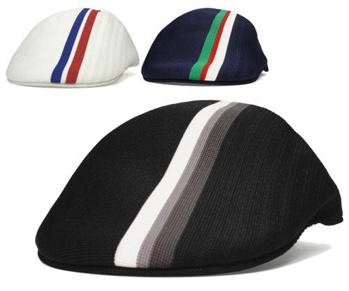 KANGOL KANGOL TRANSMISSION STRIPE 507 trans mission stripe 507 Black Navy  White Hat hunting gentleman Lady mens Womens unisex gift 15f768a9a81