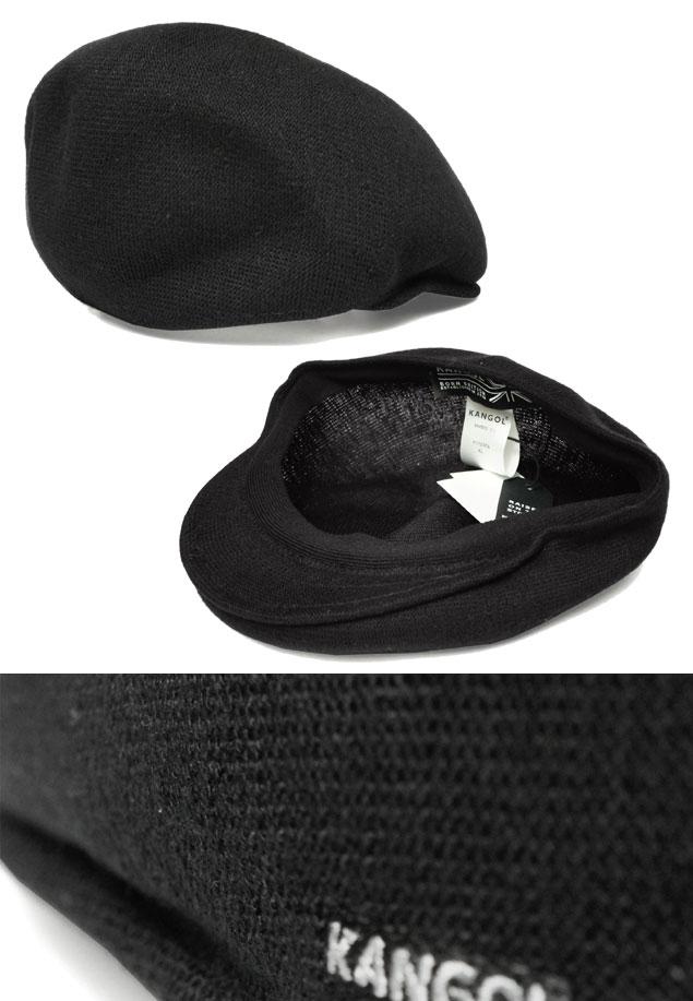 罐子球門KANGOL BAMBOO 575竹子575 Black帽子獵帽紳士婦女人分歧D男女兼用禮物