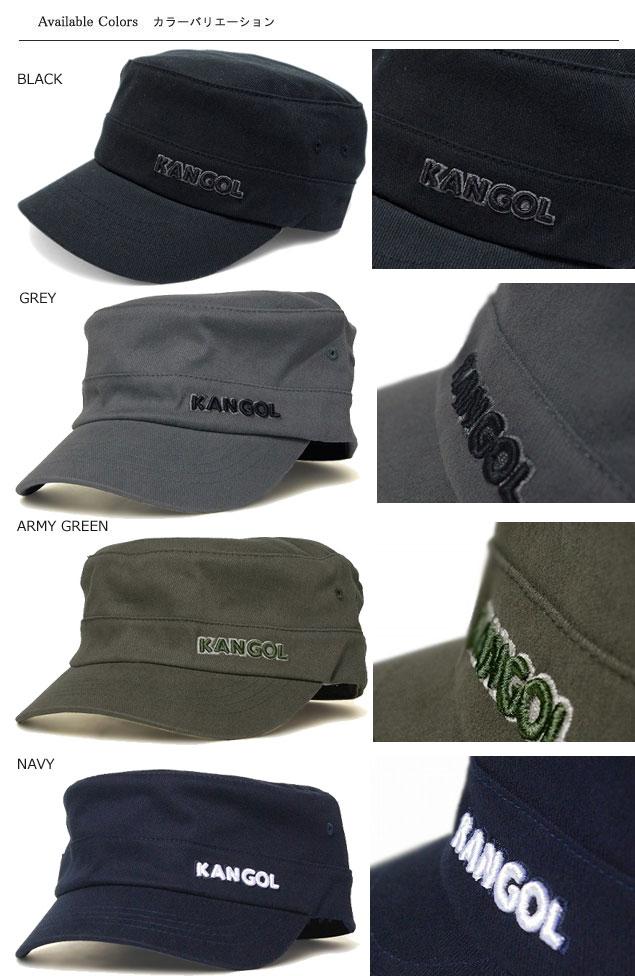 5dd2fef1 ... KANGOL COTTON TWILL ARMY CAP-KANGOL cotton twill army CAP, Black ...