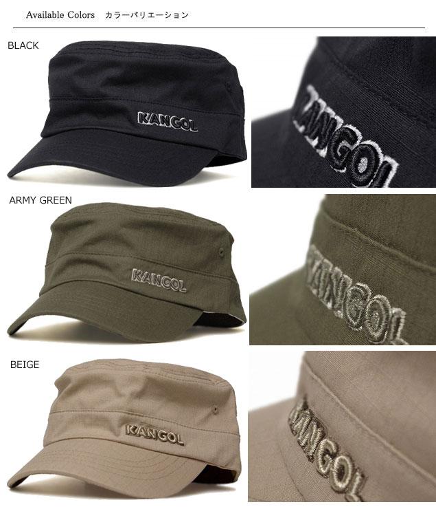 KANGOL KANGOL RIPSTOP ARMY CAP Ripstop army Cap Black ArmyGreen Baige Grey  White Navy Hat Cap Cap Army military mens Womens unisex 3a029d4472