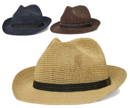 送料無料 Bailey ベイリー 81652 ELLIOTT エリオット Natural Navy Brown帽子 ストローハット 麦わら帽子 中折れハット 紳士 メンズ