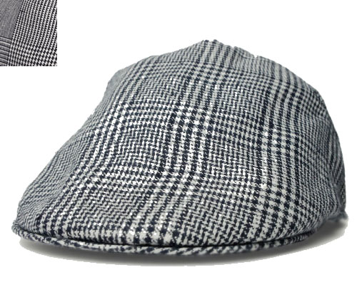New York Hat(ニューヨークハット)ハンチング #6165 PLAID PUB Blackver.1 Blackver.2